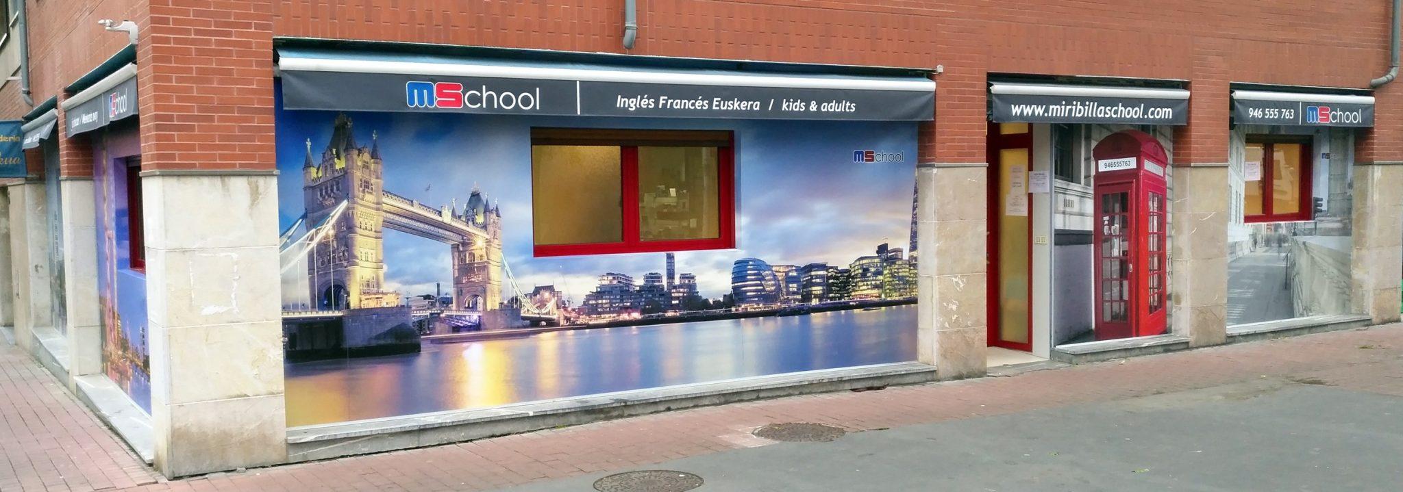 Miribilla School, Academia de inglés en Bilbao